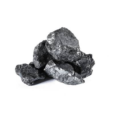 Anthracite Poster by Science Photo Library