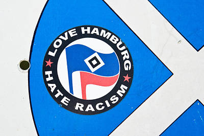 Anti-racism Sticker Poster by Tom Gowanlock