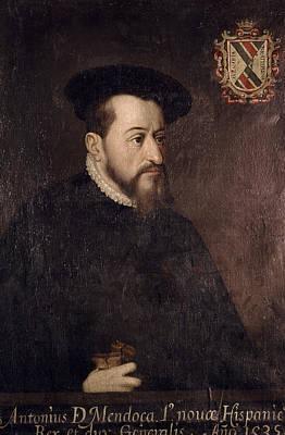 Antonio De Mendoza (c1485-1552) Poster by Granger