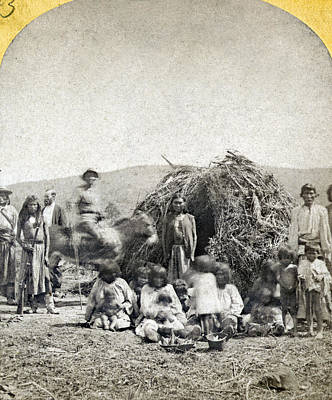 Apache Camp, C1873 Poster by Granger