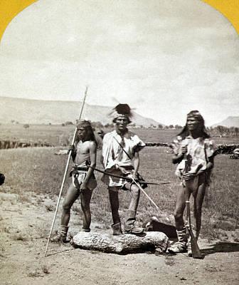 Apache Warriors, C1873 Poster by Granger