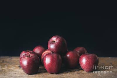 Apples Poster by Viktor Pravdica