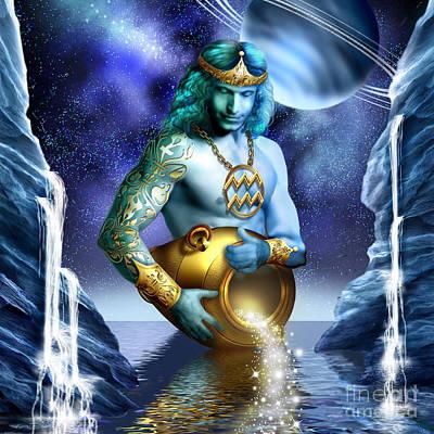 Aquarius Poster by Ciro Marchetti