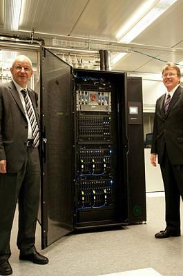 Aquasar Supercomputer Poster by Ibm Research