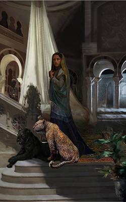 Arabian Princess Poster by Matt Kedzierski