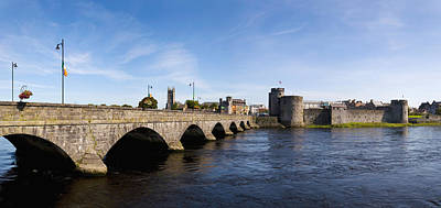 Arch Bridge Across A River, Thomond Poster by Panoramic Images