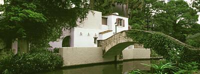 Arch Bridge At San Antonio River Walk Poster by Panoramic Images