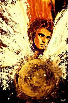 Archangel Michael Poster by Alma Yamazaki