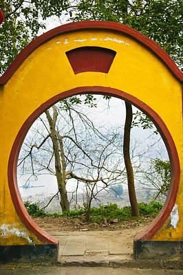 Archway With Trees In The Background Poster by Panoramic Images