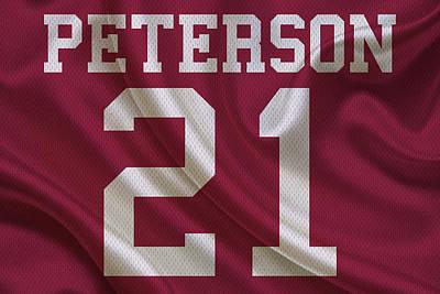 Arizona Cardinals Patrick Peterson Poster by Joe Hamilton