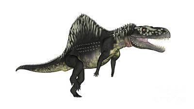 Arizonasaurus Dinosaur Poster by Elena Duvernay