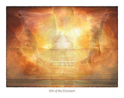 Ark Of The Covenant Poster by Michael A Woodside