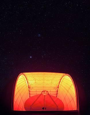 Aro Telescope Poster by Babak Tafreshi