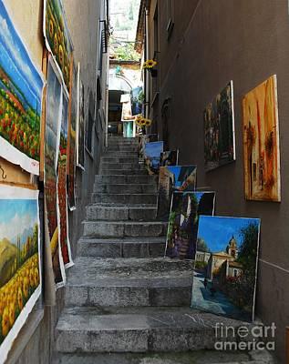 Art In An Alley Poster by Mel Steinhauer