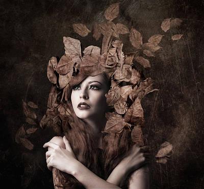 Artemis, Daughter Of Zeus Poster by Faizal Besari