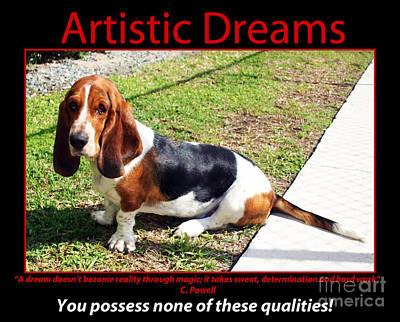Artistic Dreams Poster by John Rizzuto