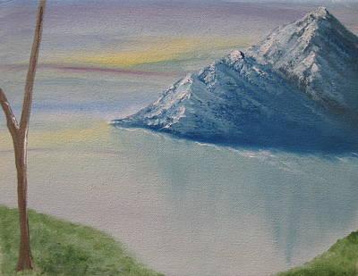 As Big As The Mountain Poster by Sayali Mahajan