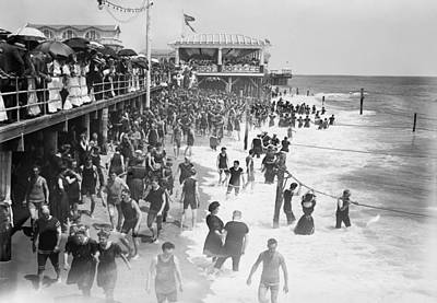 Asbury Park - New Jersey - 1908 Poster by Daniel Hagerman