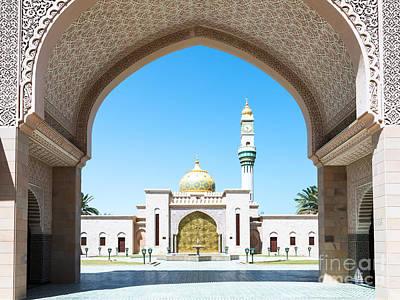 Asma Bint Alawi Mosque - Muscat - Oman Poster by Matteo Colombo