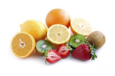 Assorted Fruit Poster by Elena Elisseeva