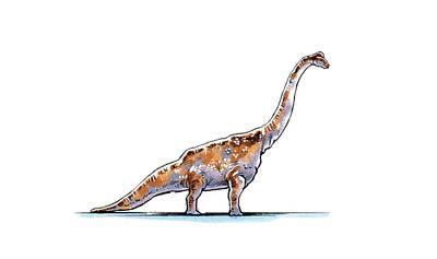 Astrodon Dinosaur Poster by Deagostini/uig