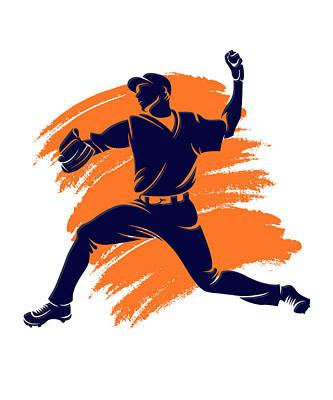 Astros Shadow Player2 Poster by Joe Hamilton