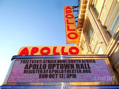 At The Apollo Poster by Ed Weidman