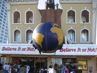 Atlantic City - Ripleys Believe It Or Not - 12129 Poster by DC Photographer