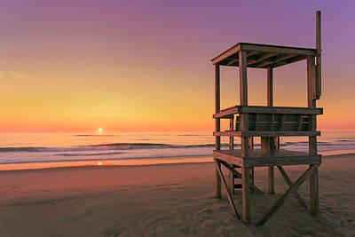 Atlantic Ocean In The Morning - Nauset Beach Poster by Dapixara