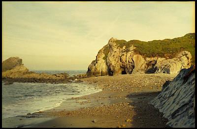 Atlantic Seascape Asturias Spain Poster by Juan  Bosco