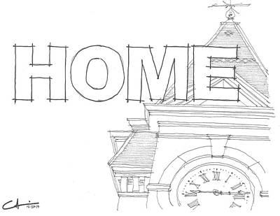 Au Home Poster by Calvin Durham