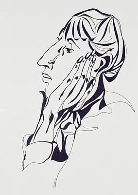 Aubrey Beardsley Poster by Stevie Taylor