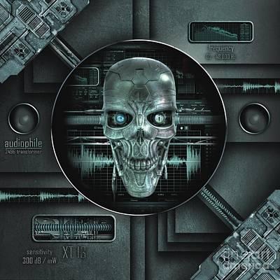 Audiophile Poster by Franziskus Pfleghart