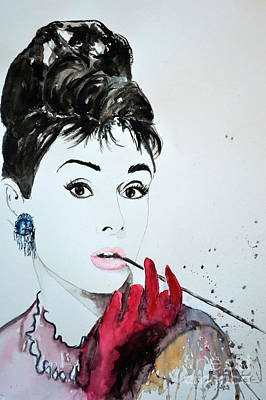 Audrey Hepburn - Original Poster by Ismeta Gruenwald
