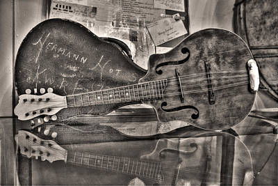 Aunt Pearls Mandolin Poster by William Fields