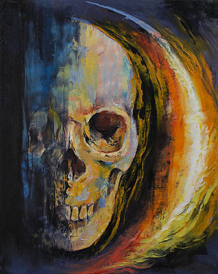 Aura Poster by Michael Creese