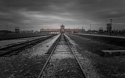Auschwitz-birkenau Poster by Chris Fletcher
