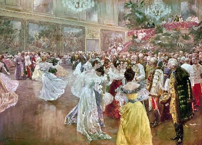 Austria: Court Ball, 1900 Poster by Granger