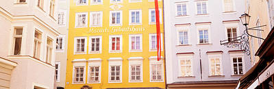 Austria, Salzburg, Mozarts Birthplace Poster by Panoramic Images