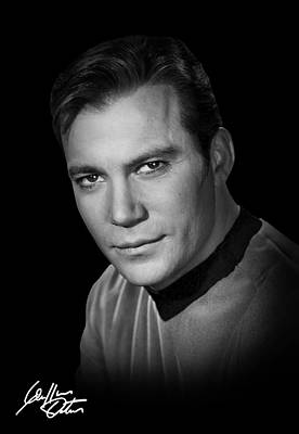 Autographed Kirk Poster by Daniel Hagerman