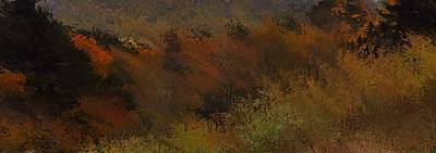 Autumn Abstract Poster by Dan Sproul