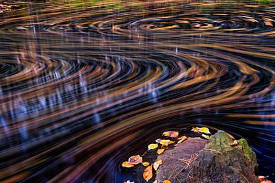 Autumn Chaos Poster by Jeff Sinon