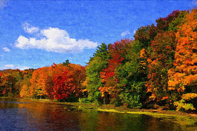 Autumn Colors Poster by Donna Lorello