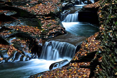 Autumn Flows Forth Poster by Frozen in Time Fine Art Photography