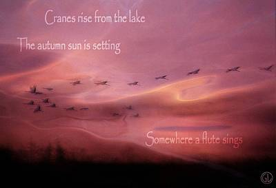 Autumn Haiku Poster by Gun Legler