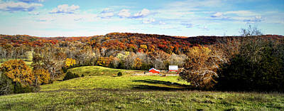 Autumn In The Country Poster by Cricket Hackmann