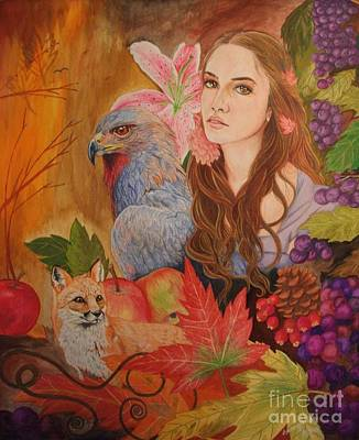 Autumn Poster by Maricay Smeenk