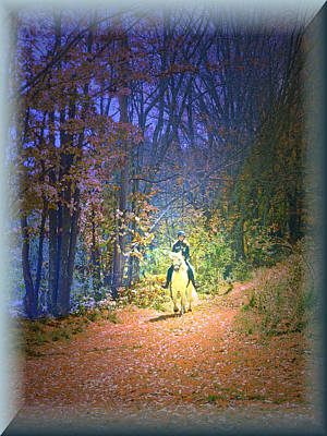 Autumn Memories- The Dreams Of Children Poster by Patricia Keller