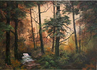 Autumn On Cannock Chase Poster by Jean Walker