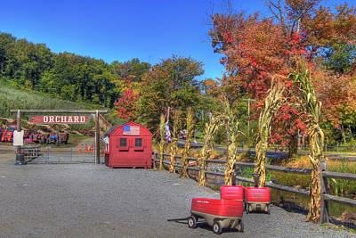 Autumn Orchard Poster by Joann Vitali